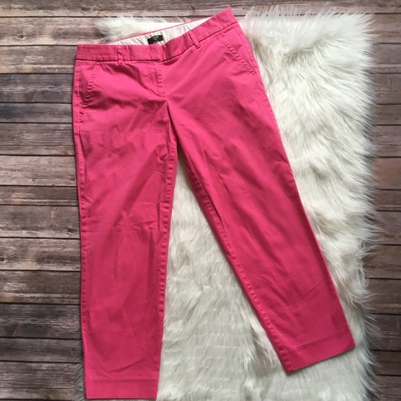 f2eaab85634 J. Crew Factory Pants - 🆑J. Crew Factory Pink Skimmer Pant City Fit